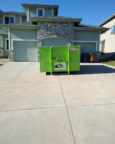 Bin There Dump That Dumpster rental on Clean Drive